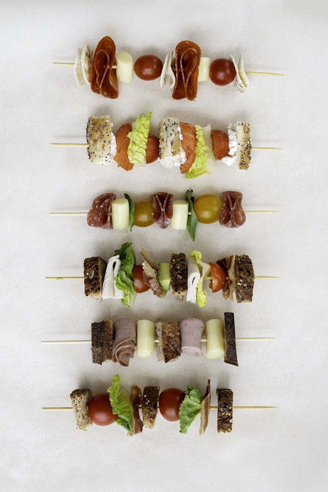 Sandwich Kabobs 5 Ways from Weelicious.com
