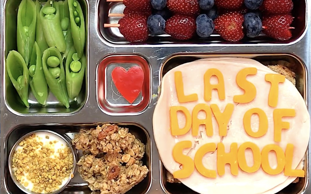 Last Day of School Lunch from Weelicious.com