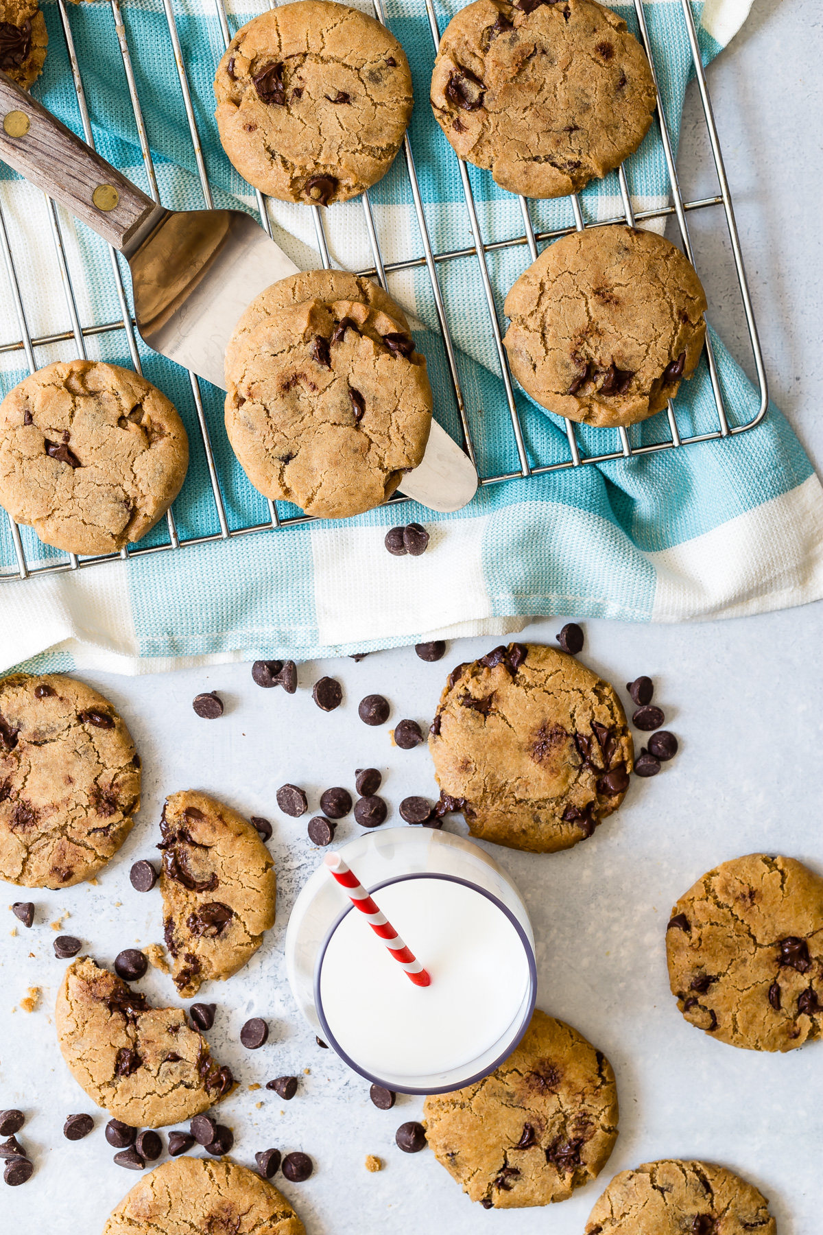 Vegan Chocolate Chip Cookies from weelicious.com