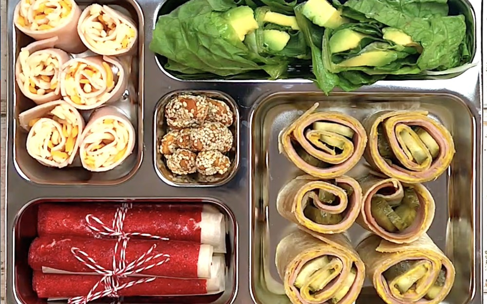 Roll It Up School Lunch from Weelicious.com