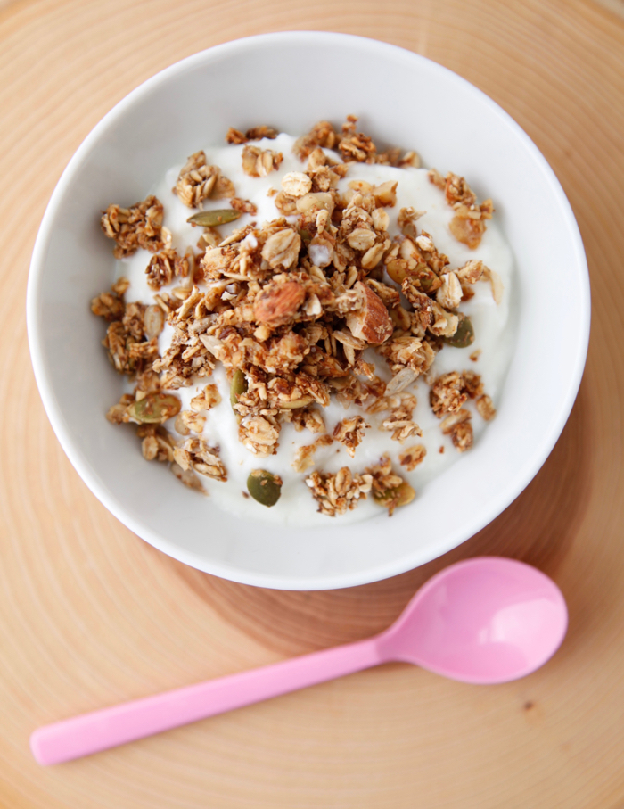 Super Healthy Granola recipe from Weelicious.com