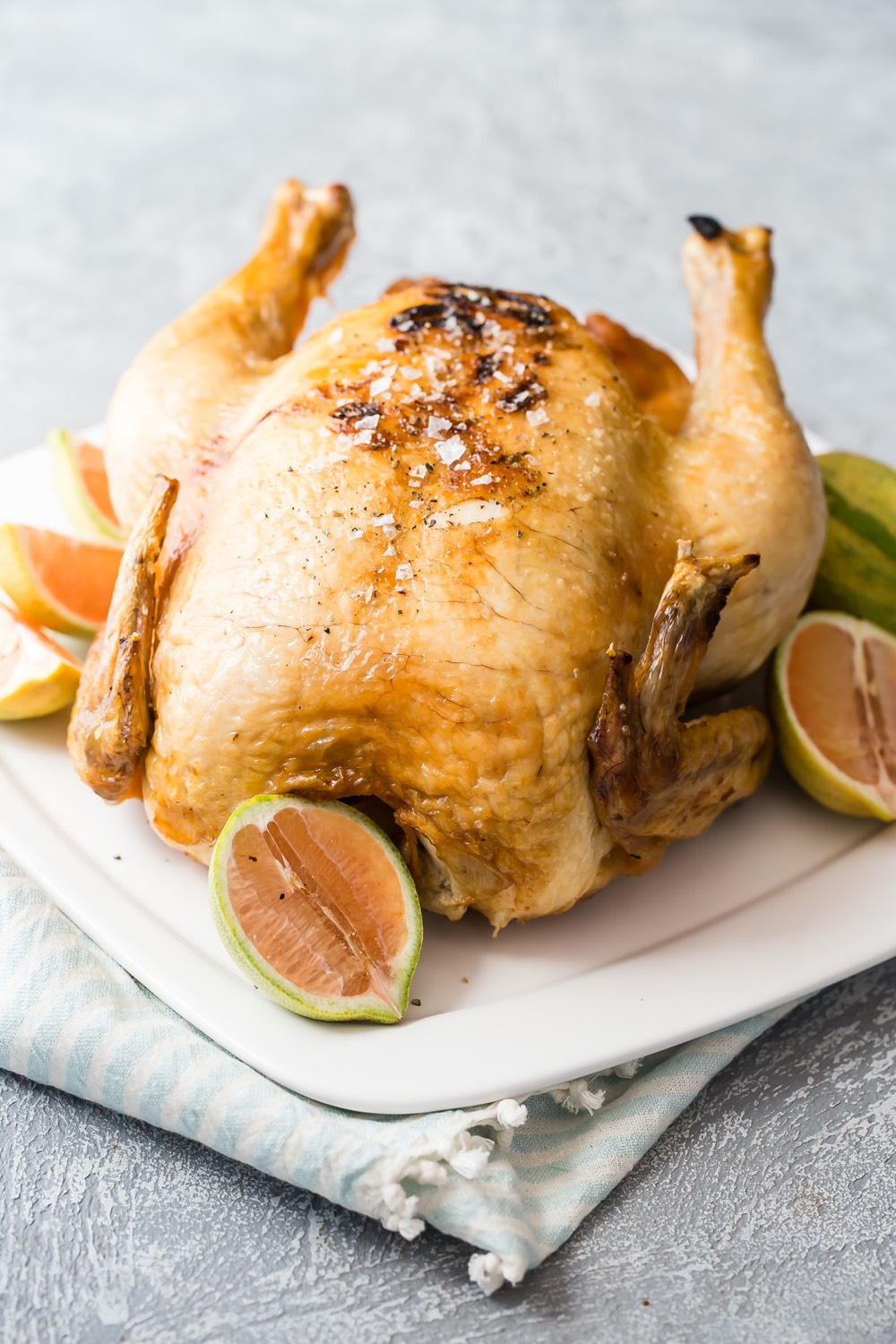 Air Fryer Roast Chicken recipe from Weelicious.com