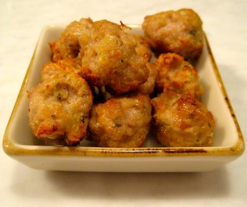 Chicken Meatballs Weelicious