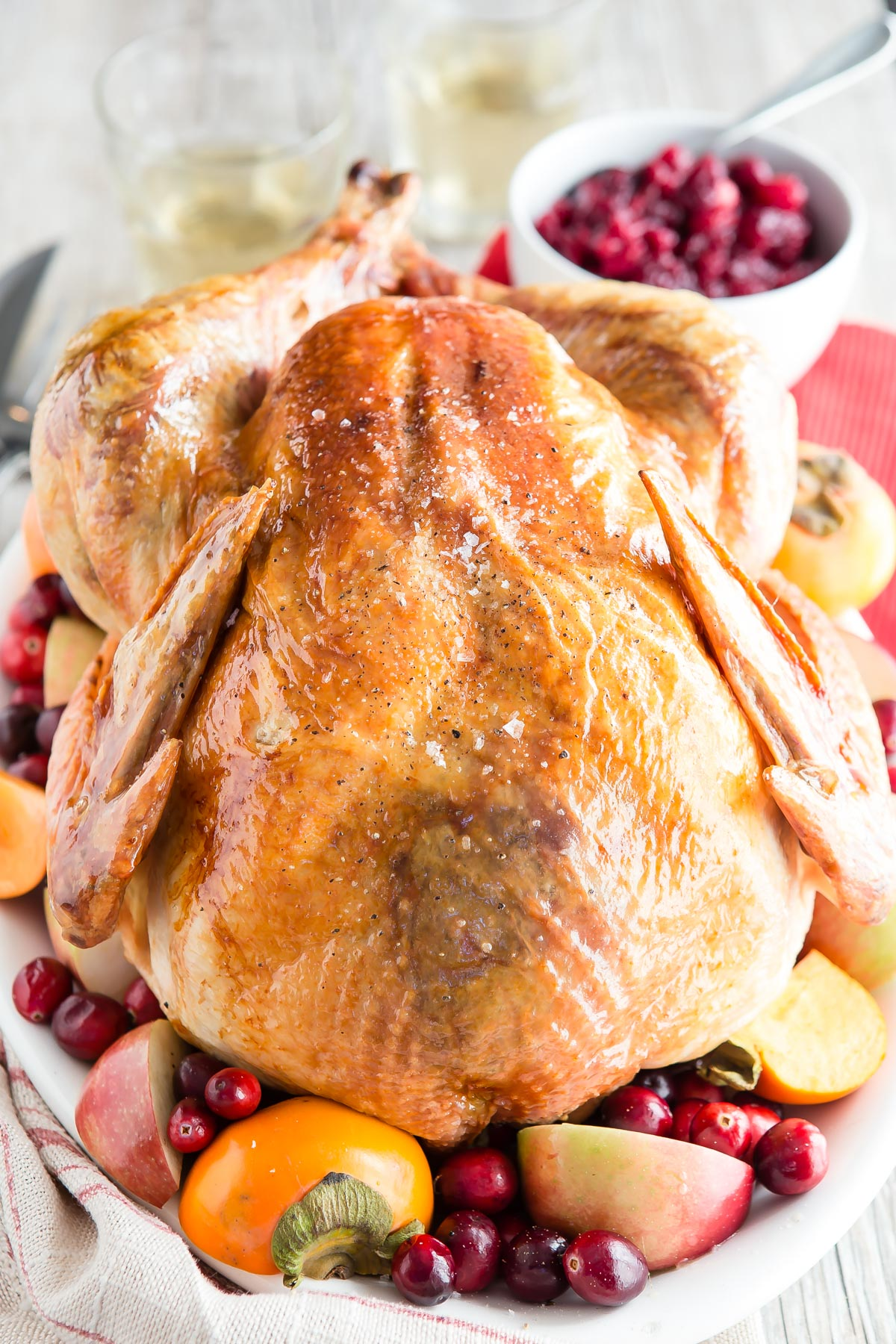 Best Brined Turkey from weelicious.com