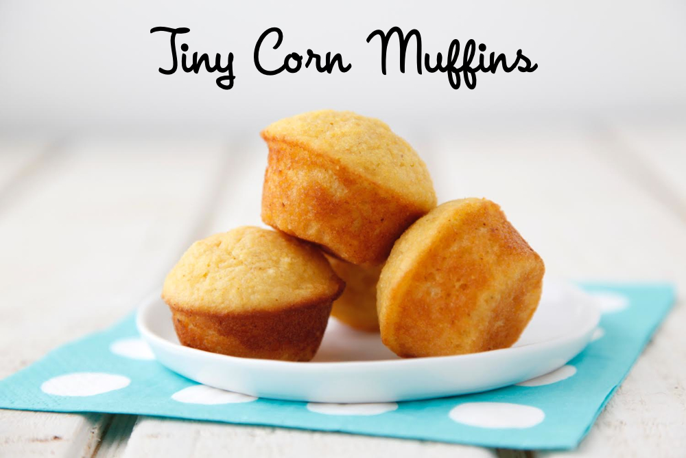 Tiny Corn Muffins from Weelicious