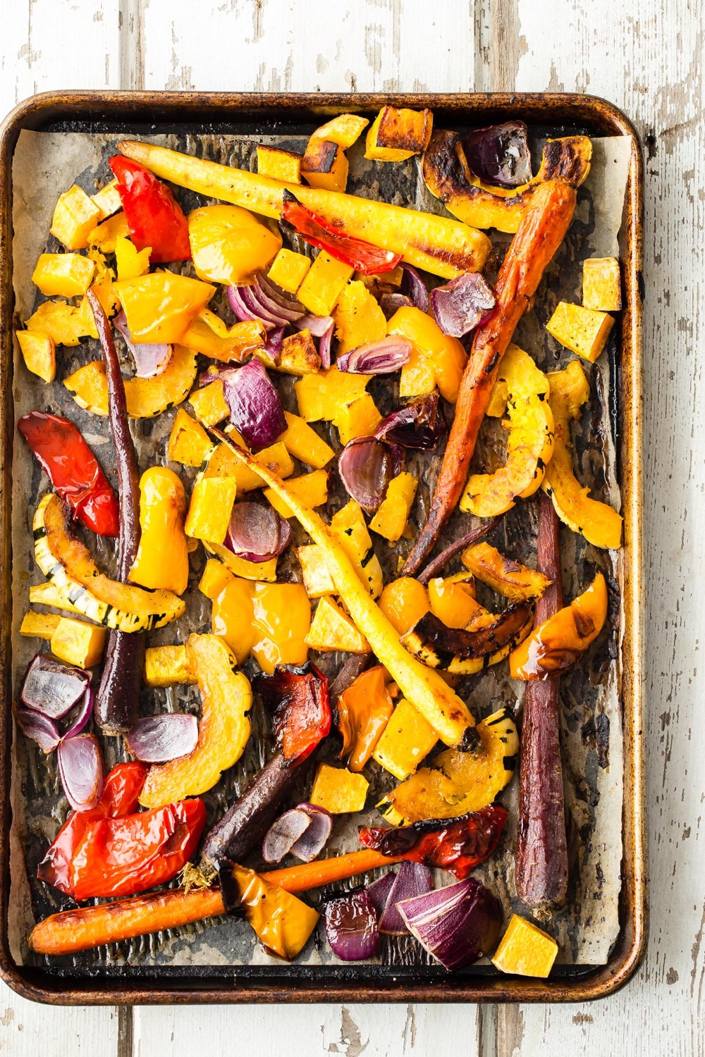 Maple Roast Vegetables from weelicious.com