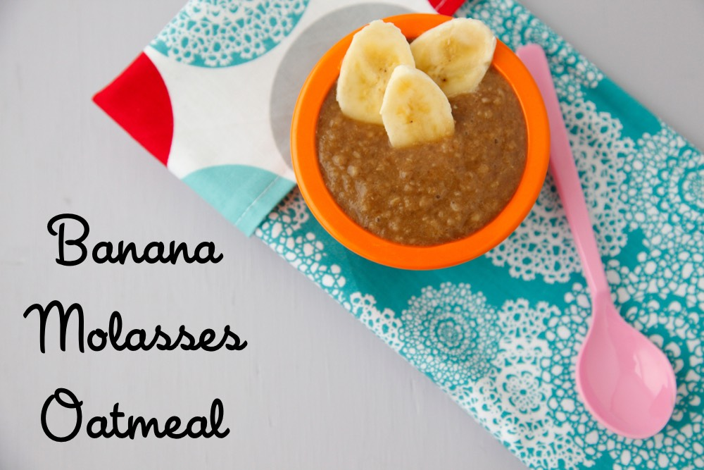 Banana Molasses Oatmeal
