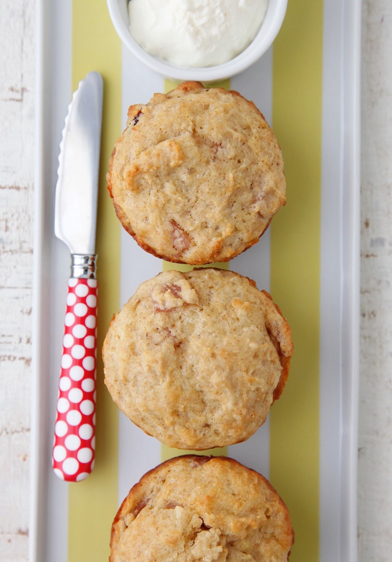 Ham and Cheese Muffins from Weelicious