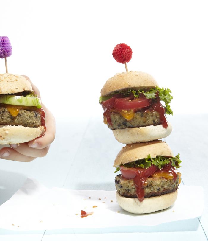 Eggplant Burgers from weelicious.com