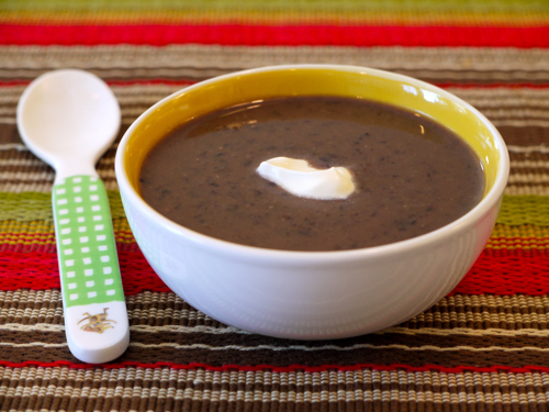 Crock Pot Black Bean Soup- Diet Blog