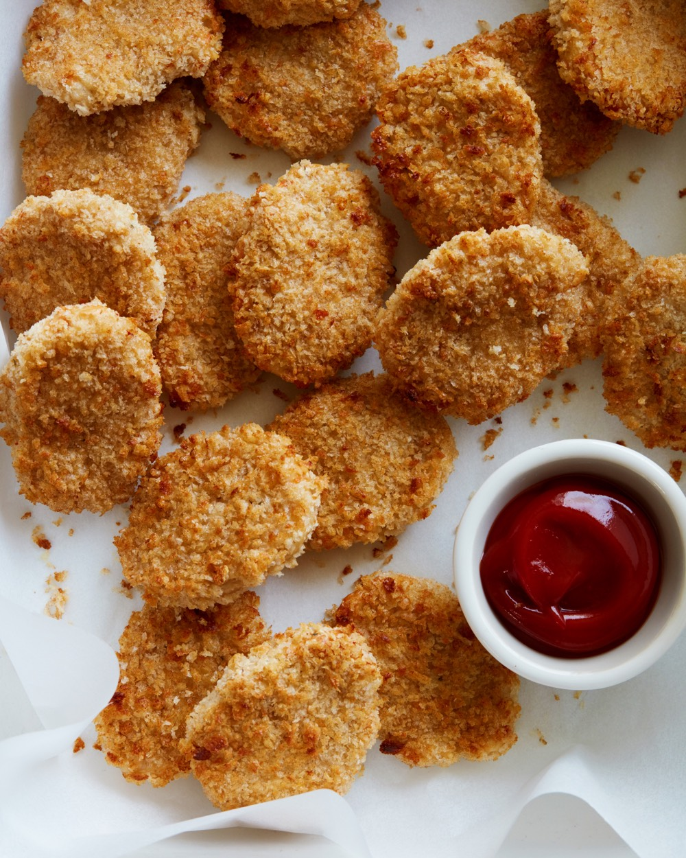 Easy Chicken Nuggets from weelicious.com