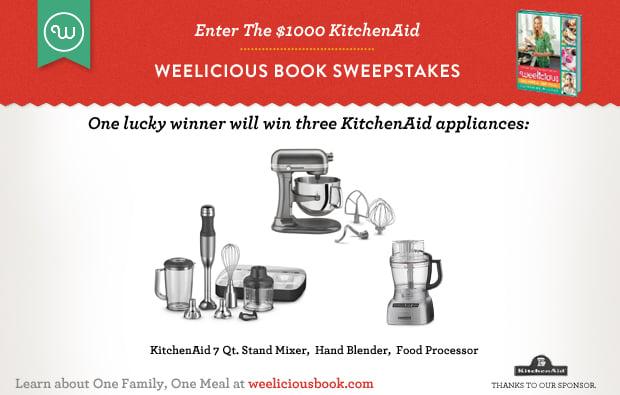 KitchenAid Weelicious Giveaway