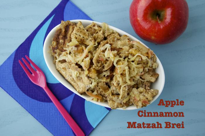 Apple Cinnamon Matzah Brei