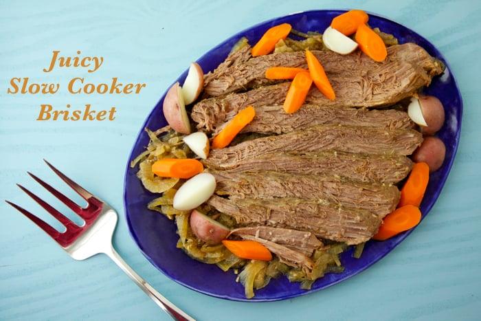 Juicy Slow Cooker Brisket