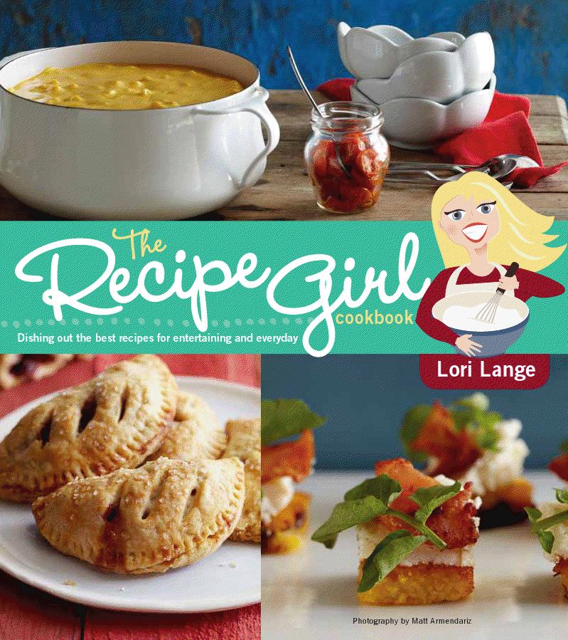 RecipeGirl Cookbook Cover