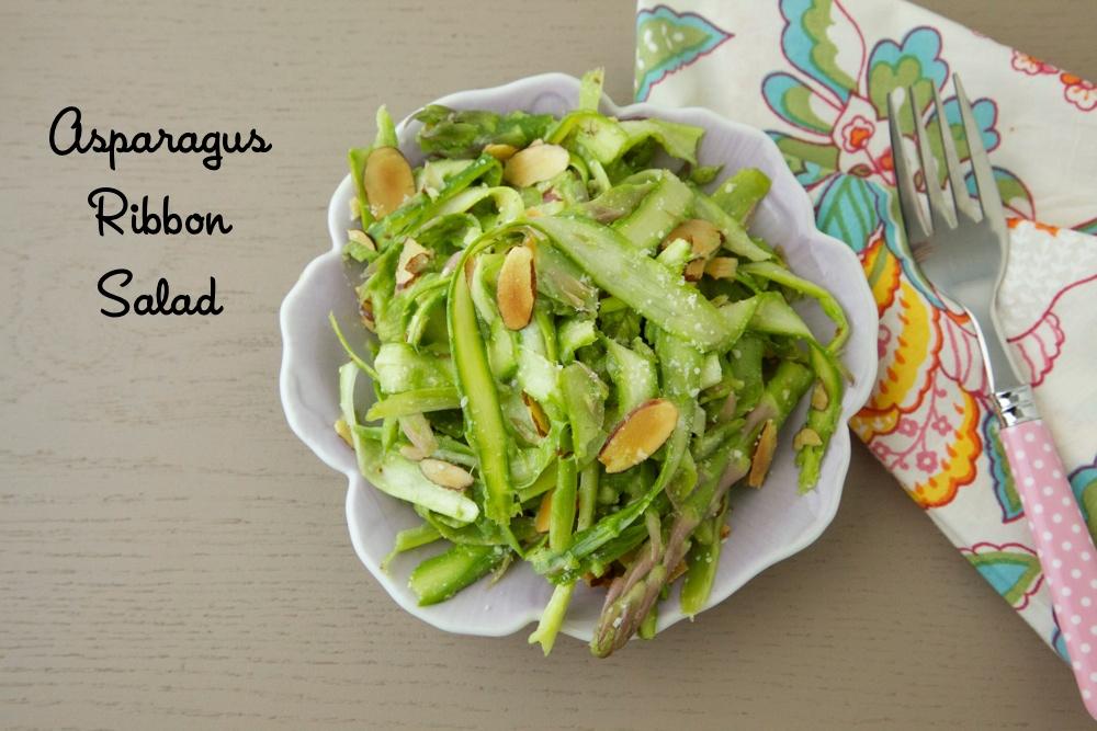 Asparagus Ribbon Salad