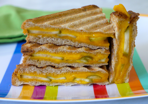 Grilled-Cheese-Pickle-Panini