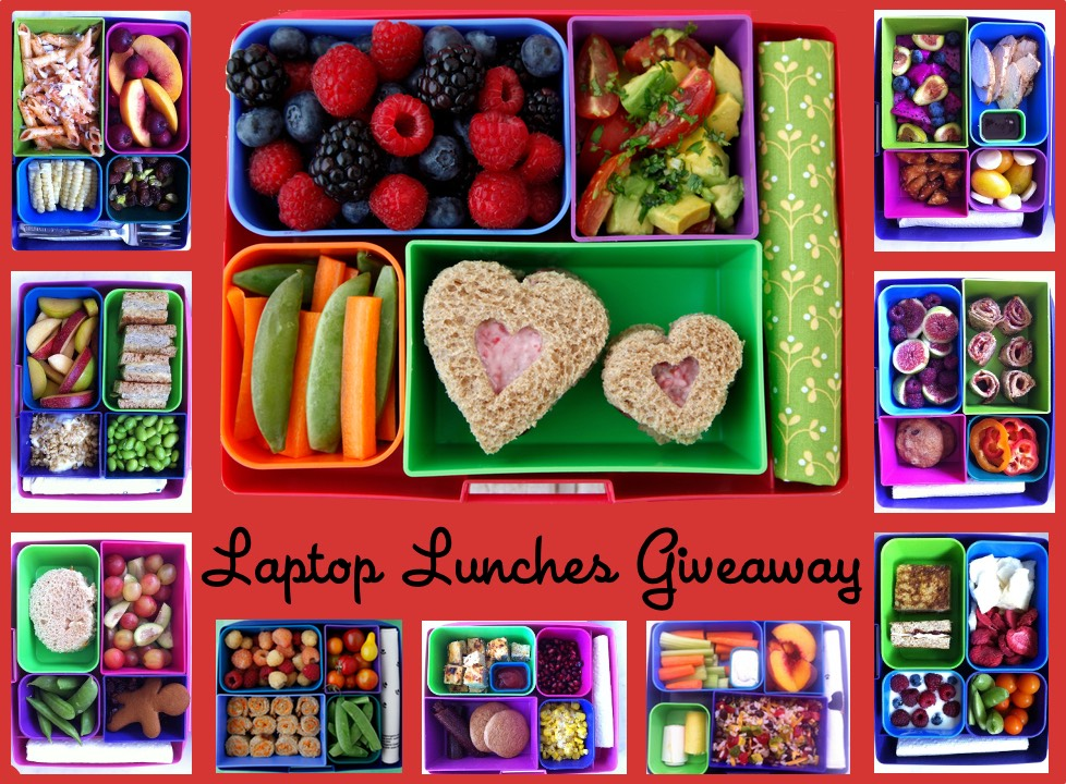 Laptop Lunches Giveaway on Weelicious