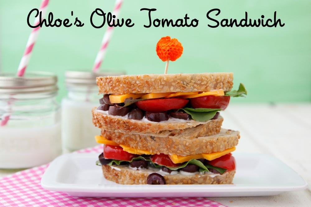 Chloe's Olive Tomato Sandwich