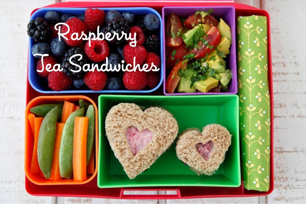 Raspberry Tea Sandwiches