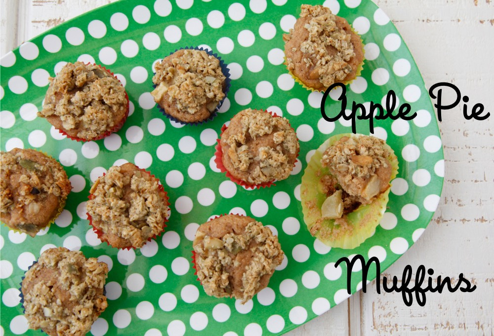 Apple Pie Muffins from Weelicious