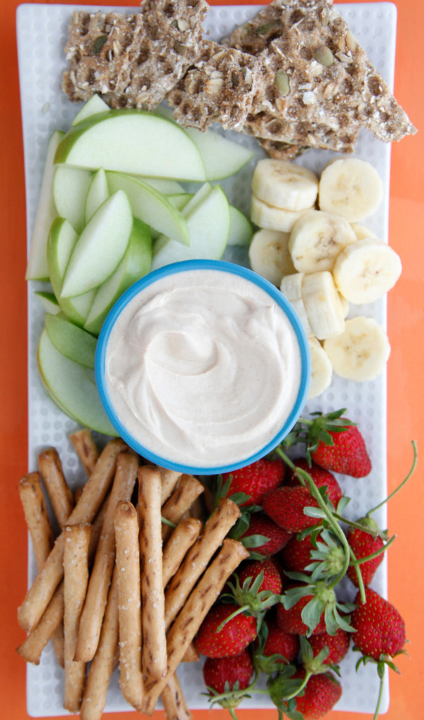 Peanut Butter Yogurt Dip 3