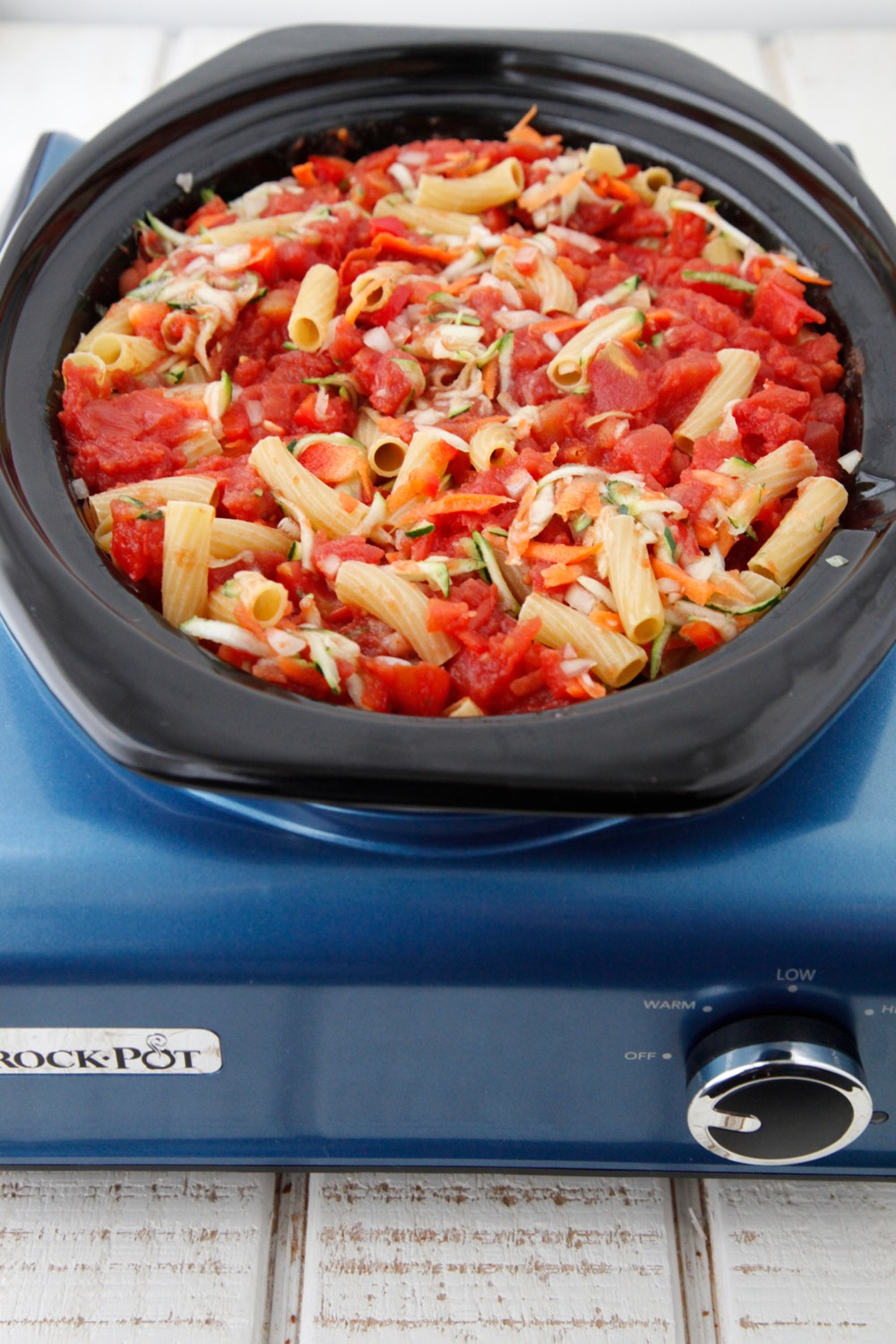 Crock Pot Vegetable Ziti 3