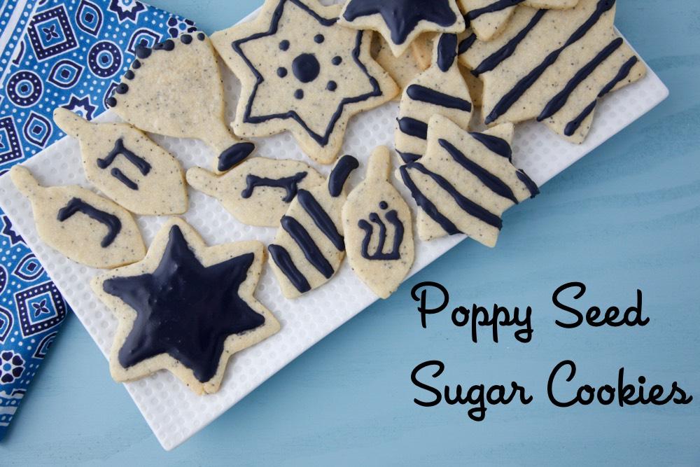 Poppy Seed Sugar Cookies
