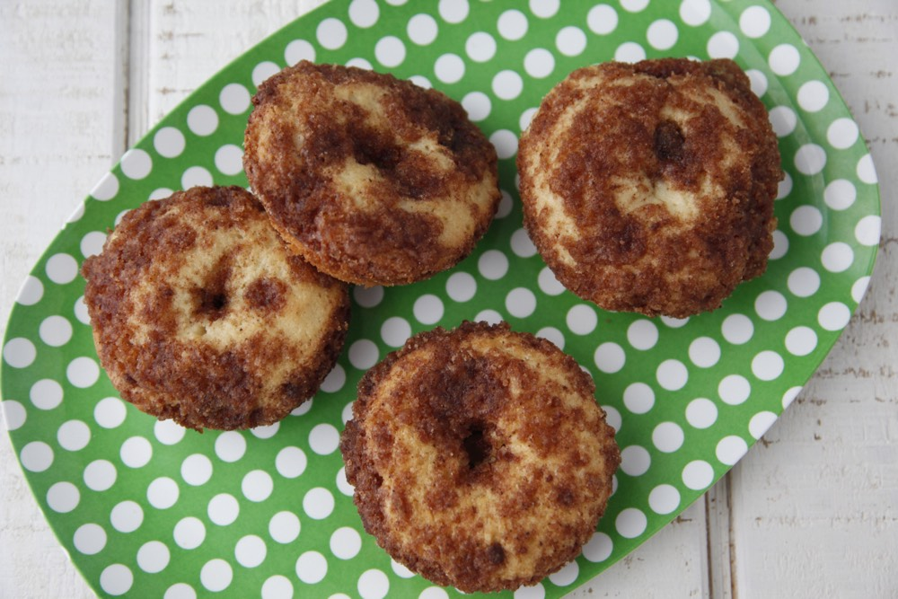 Crumb Cake Muffin Doughnuts