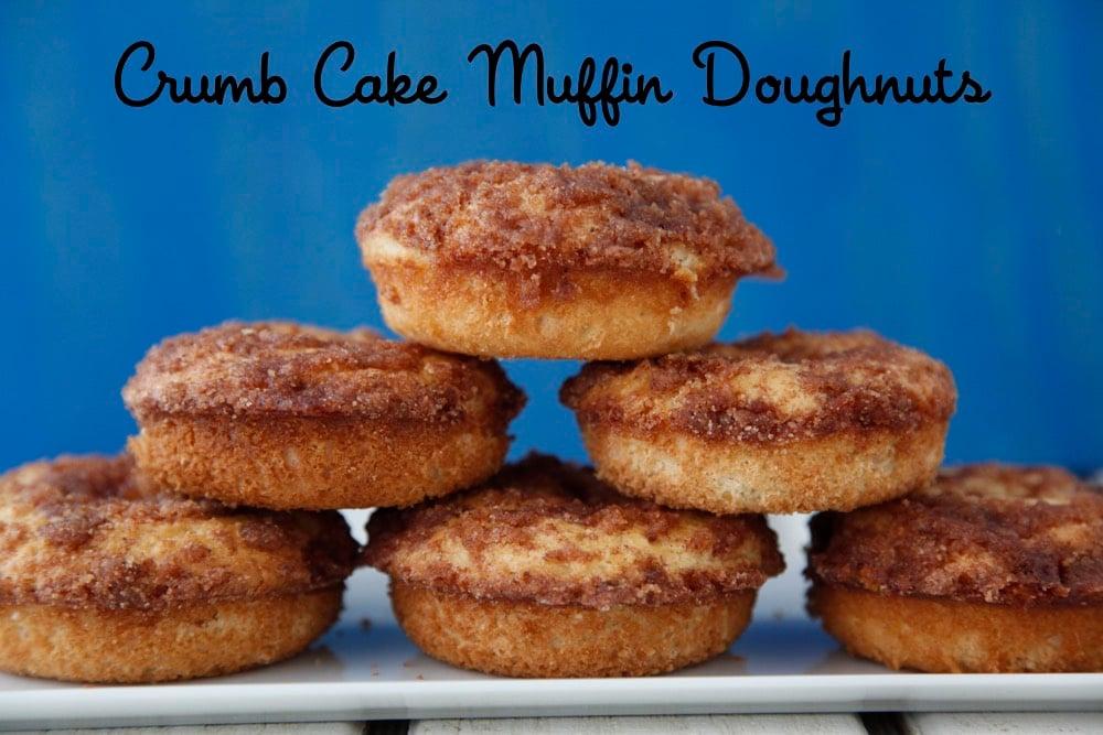 Crumb Cake Muffin Dougnuts 2