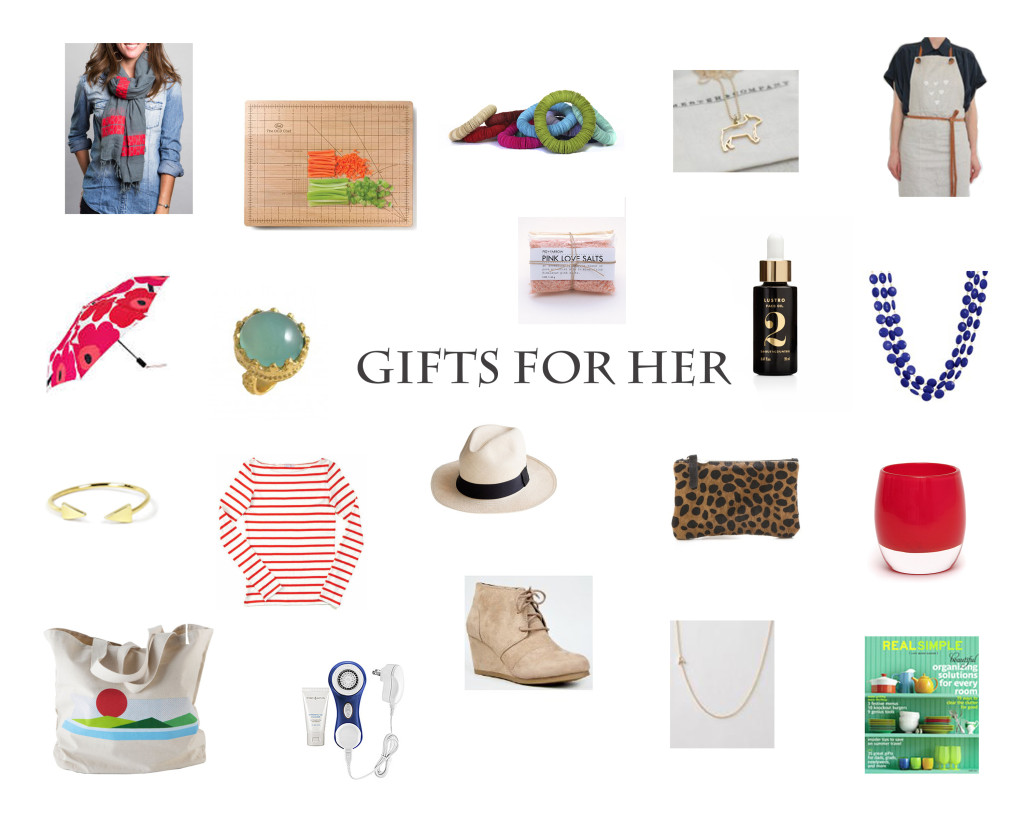 20 Handpicked Holiday Gifts for Her + a Discount Code! from Weelicious