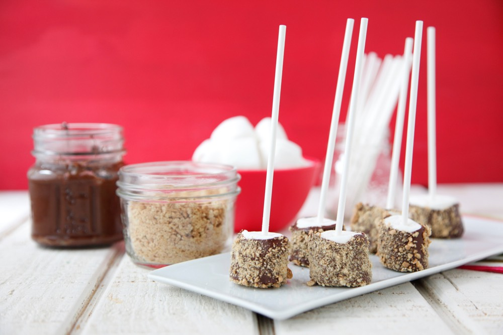S'mores on a Stick from Weelicious