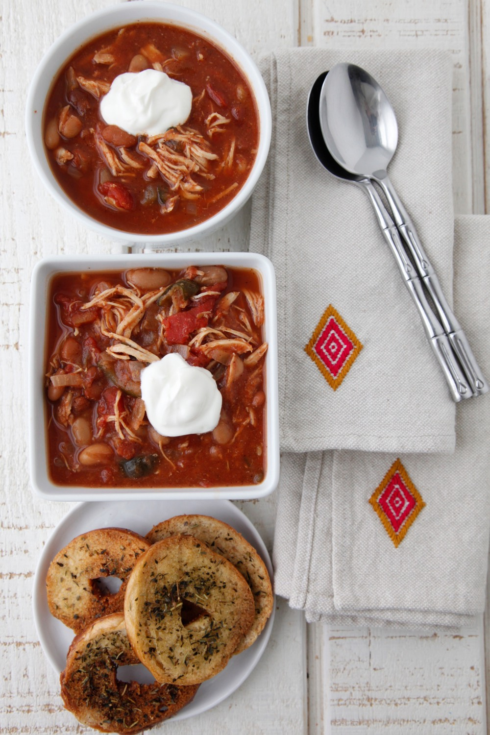 Slow Cooker Chicken Chili from Weelicious