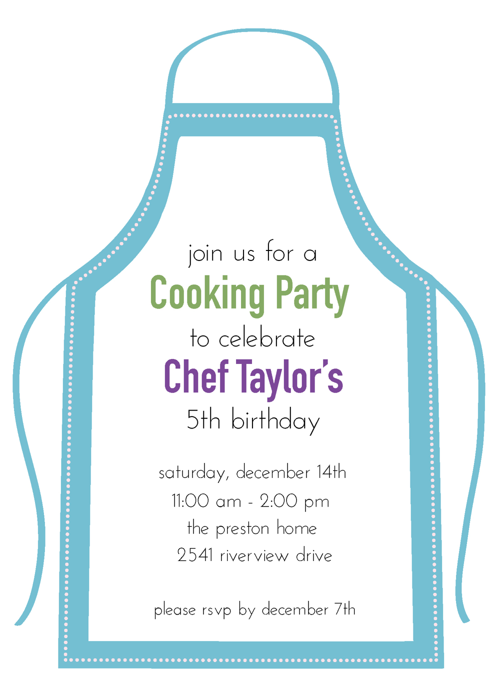 Young Chefs Party - Adventures in Party Planning | Weelicious