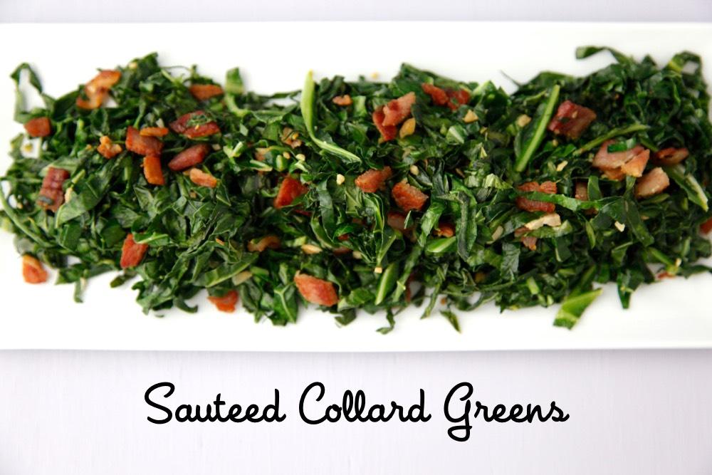 Sauteed Collard Greens 2