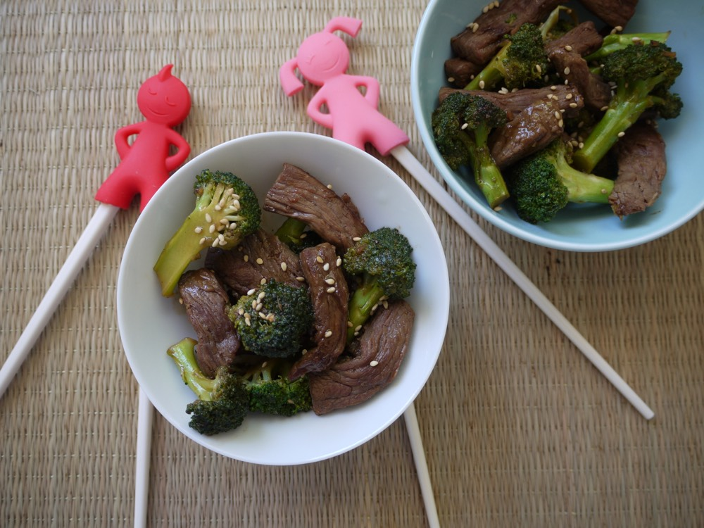 Beef and Broccoli Stir Fry Video from Weelicious