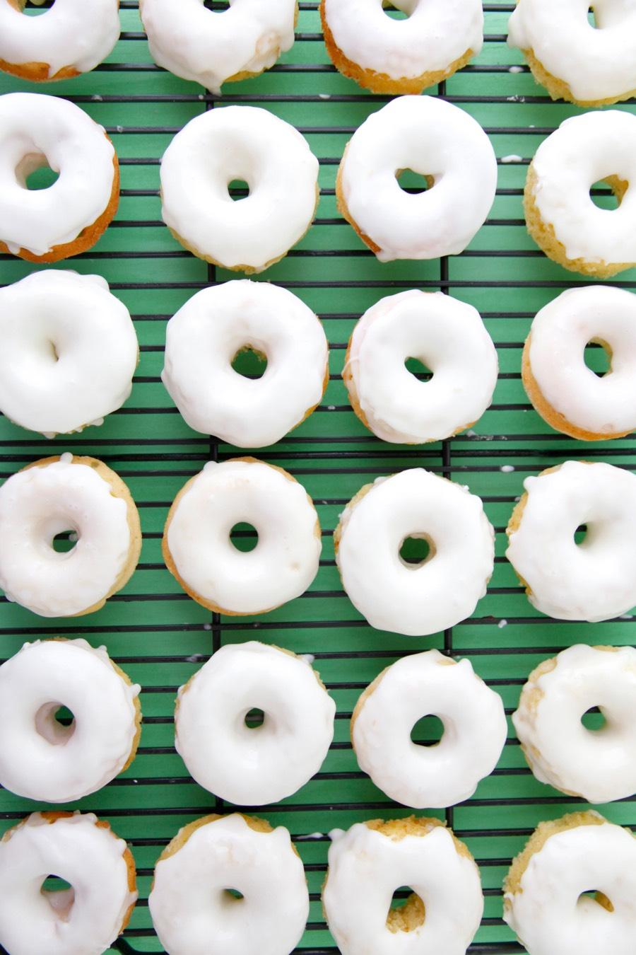 Lemon Pound Cake Mini Doughnuts Video from Weelicious
