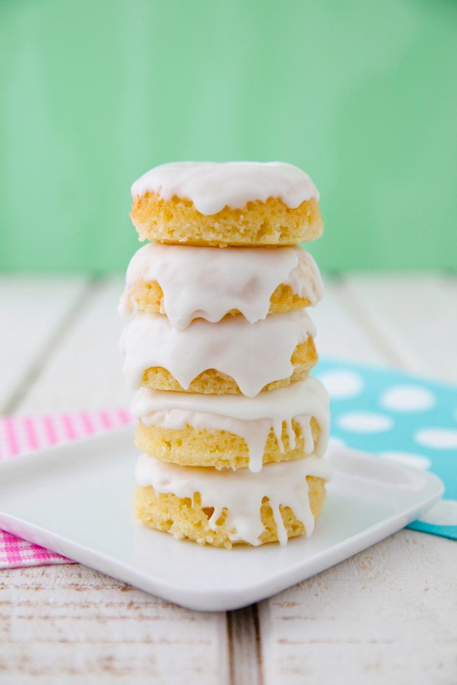 Lemon Poundcake Mini Doughnut Video from Weelicious