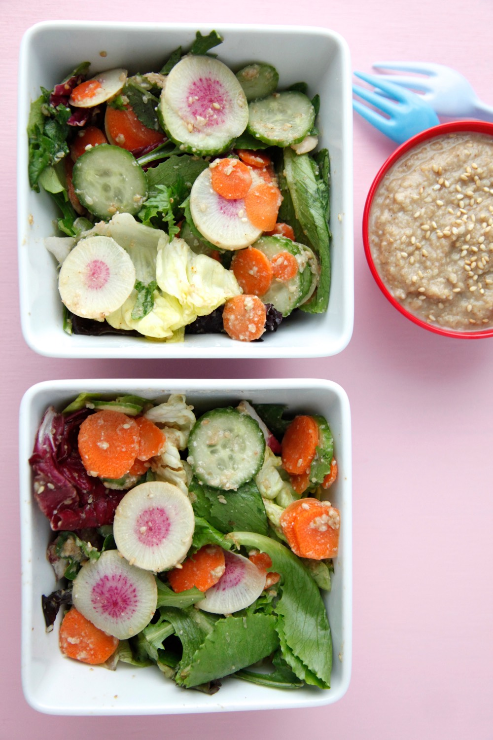 Vegan Sesame Dressing from Weelicious