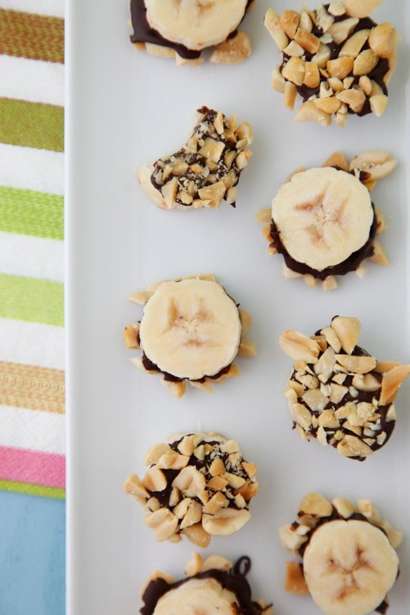 Chocolate Banana Bites from Weelicious