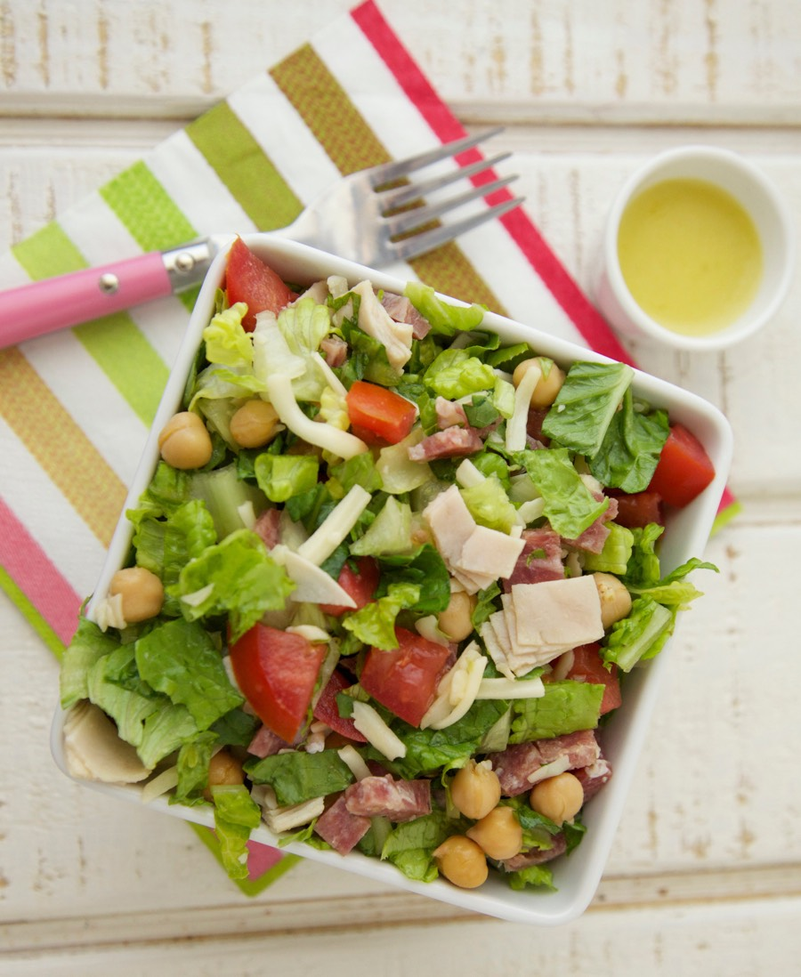 Chopped Salad Recipe from Weelicious