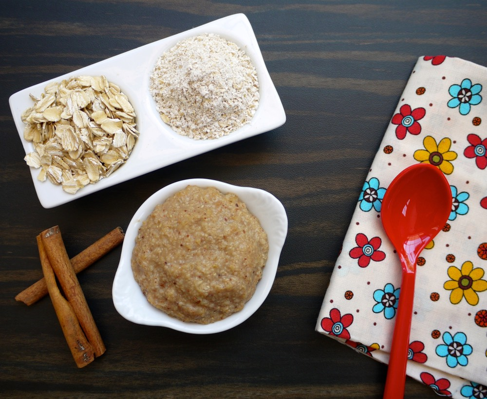 Oatmeal Baby Cereal Video from Weelicious
