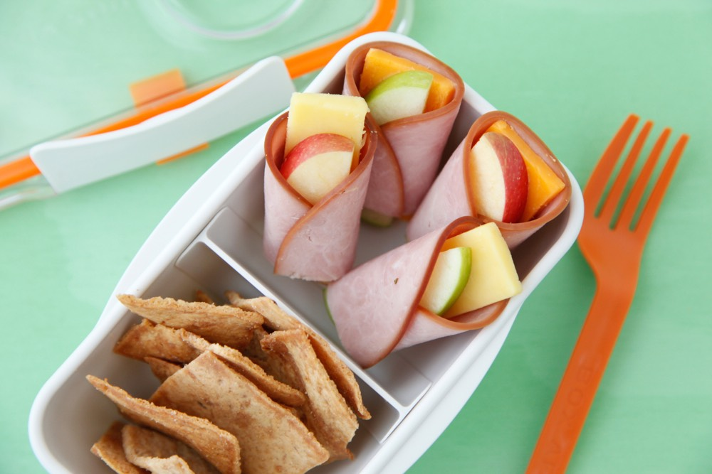 Apple Cheese Wraps from Weelicious