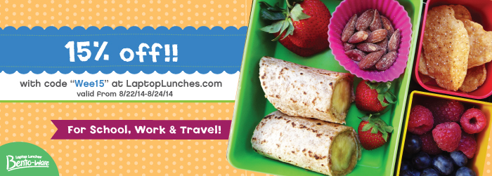 Laptop Lunches Coupon Code from Weelicious
