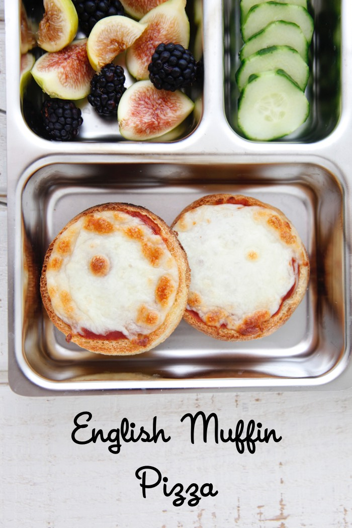 English Muffin Pizza from Weelicious