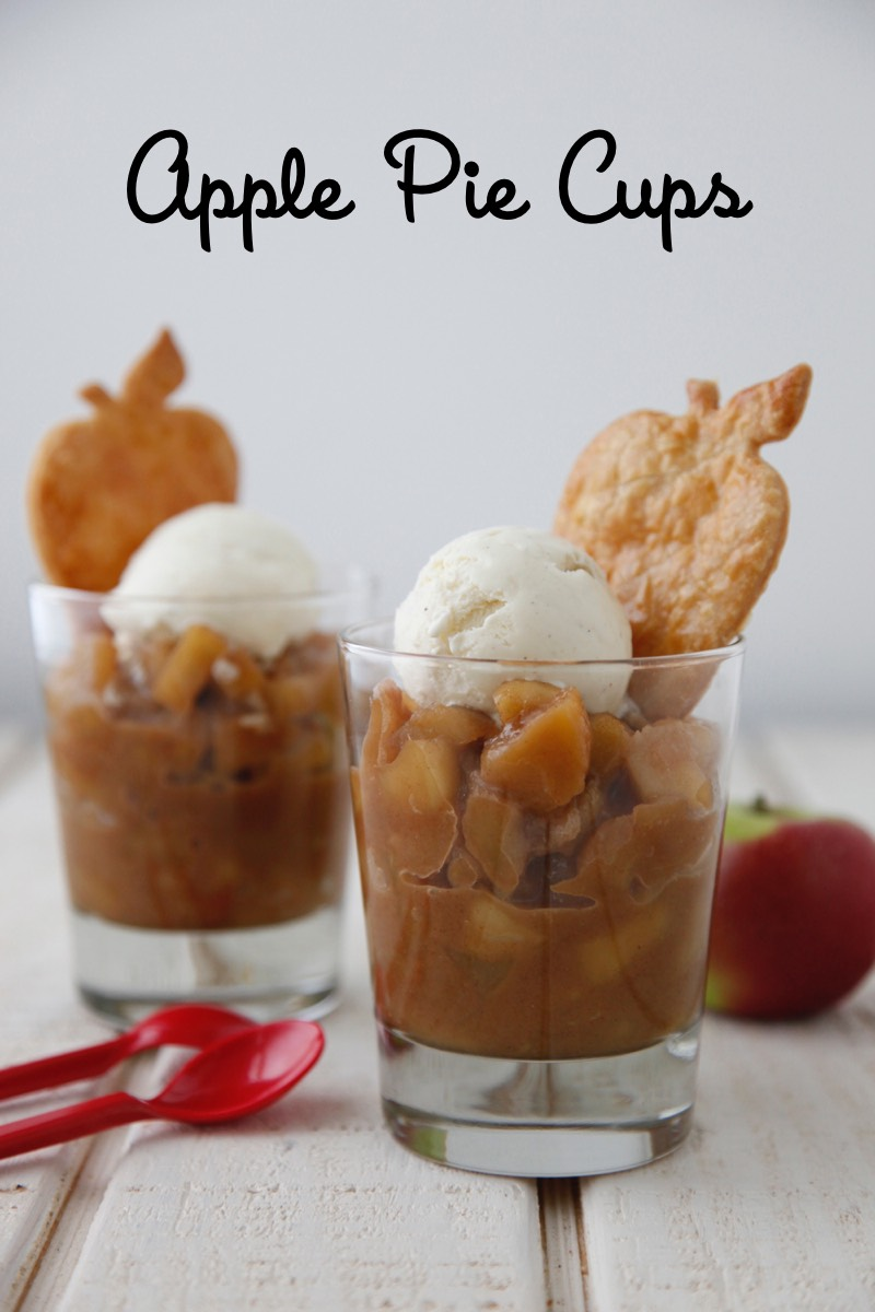 Apple Pie Cups from Weelicious