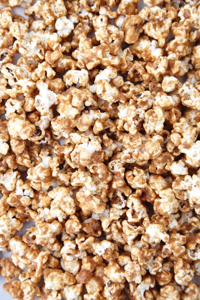 Caramel Popcorn from Weelicious
