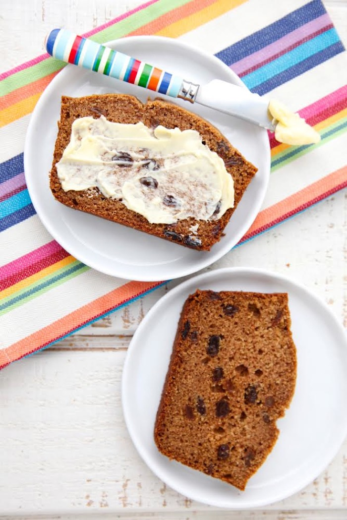 Cinnamon Raisin Quick Bread and a Cookbook Giveaway from Weelicious