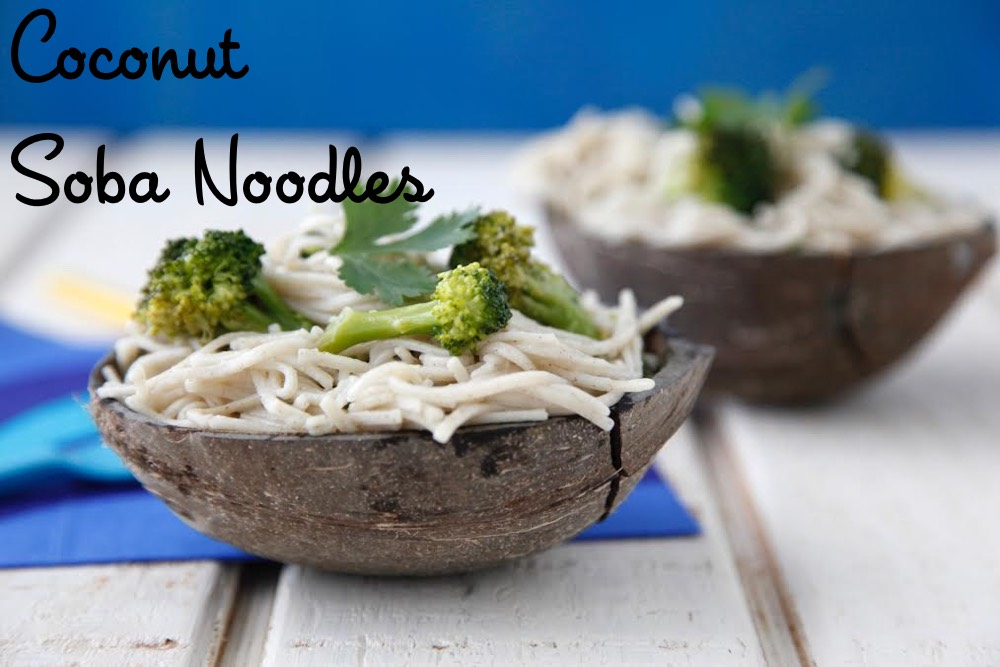 Coconut Soba Noodles from Weelicious