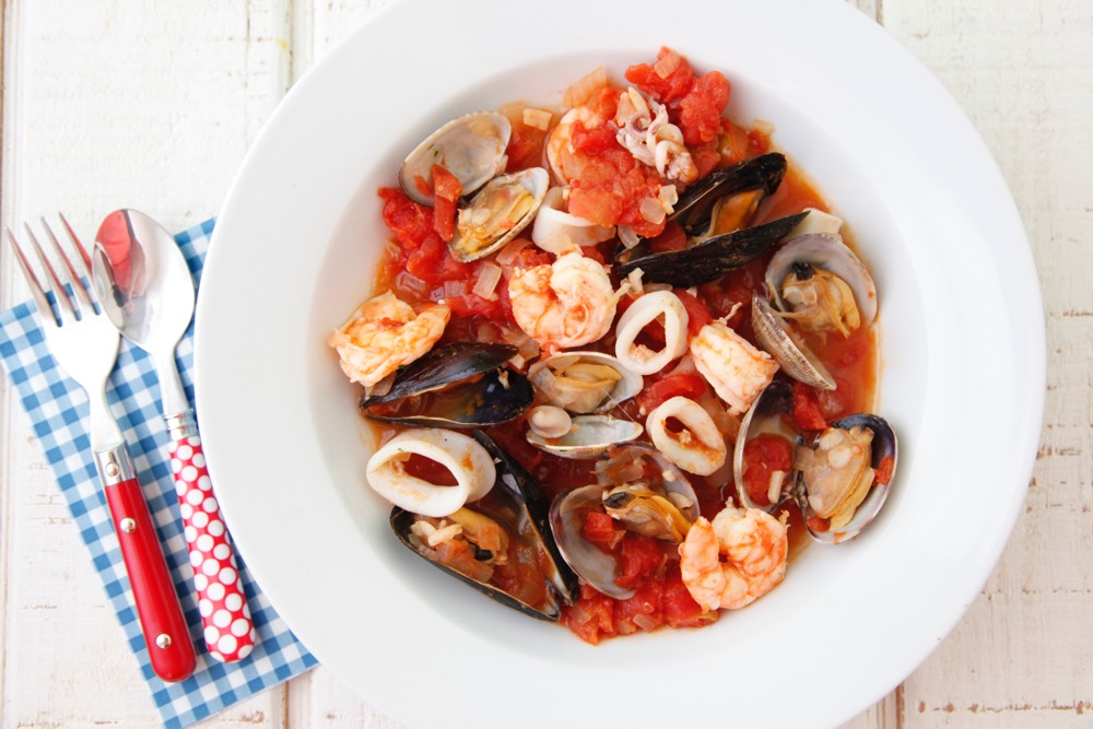 Seafood Stew from Weelicious